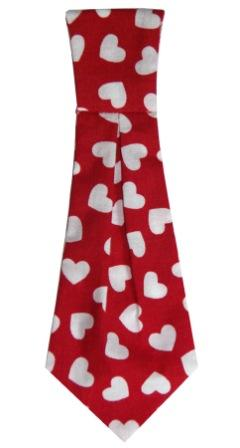 Satin necktie for dogs