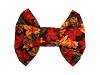 Fall bowties for dogs
